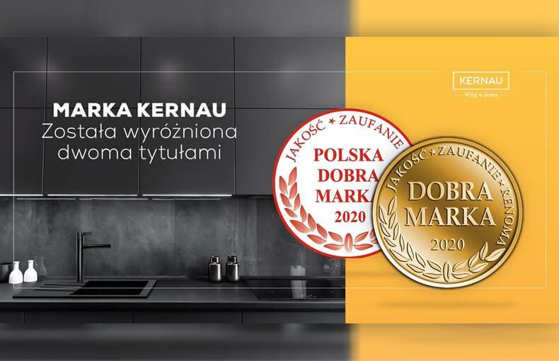 Kolejne wyróżnienia dla marki Kernau