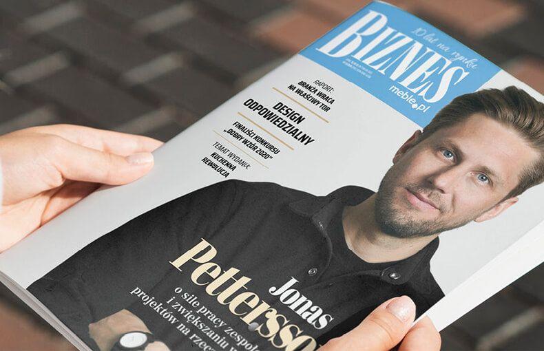"""Max Kuchnie we wrześniowym wydaniu """"BIZNES meble.pl"""""""