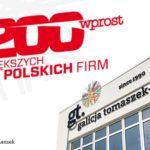 GT Group w rankingu 200 największych firm polskich